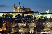Pražský hrad je sídlem prezidenta České republiky.