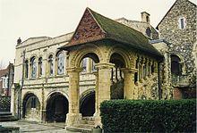 Normandische trap, King's School, Canterbury
