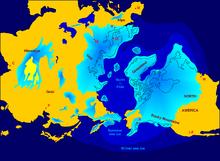 Vergletscherung der Nordhalbkugel