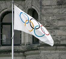 De Olympische vlag