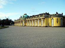 Palác Sanssouci