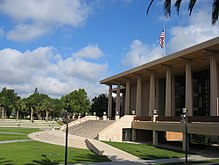 Oviatt Bibliotheek van Cal State Northridge.