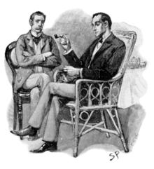 Шерлок Холмс и доктор Ватсон...