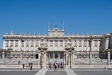 Palacio Real (Královský palác), Madrid