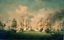 1 juni: Slag bij La Hougue.