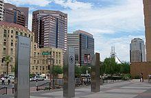 Im Stadtzentrum von Phoenix südlich der Jefferson Street.