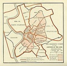 Wachstum der Stadtregion während des Königreichs