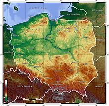 Физические особенности Польши