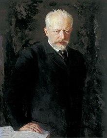 Tsjaikovski in 1893