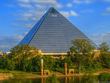 Pyramid-Arena in Memphis, Tennessee