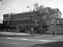 Quai d'Orsay (Paris). Robert Schuman hielt die Eröffnungsrede zum Plan für eine Europäische Gemeinschaft für Kohle und Stahl im Jahr 1950
