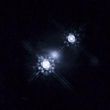 Gravitationele lens HE 1104-1805.