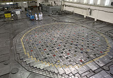RBMK-reactor in de kerncentrale van Leningrad, bijna identiek aan die van Tsjernobyl.