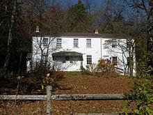 Carson's kinderhuis is nu bewaard gebleven als de Rachel Carson Homestead...