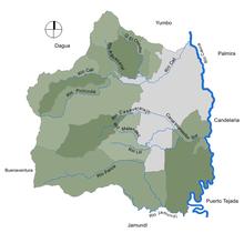 Ríos municipio de Cali.