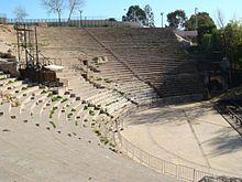 Romeins theater, in Carthago