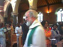 Rowan Williams, de vorige aartsbisschop...