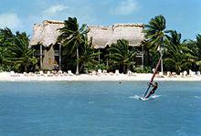 San Pedro Beach w Ambergris Caye, Belize