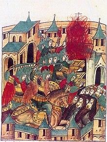 1238年2月巴图汗洗劫苏兹达勒:16世纪编年史的缩影。