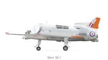 De RAF serie (XG900) op de Short SC.1