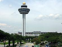 Verkeerstoren van Singapore Changi Airport