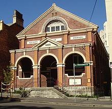 Quaker-ontmoetingshuis op de monumentenlijst, Sydney, Australië