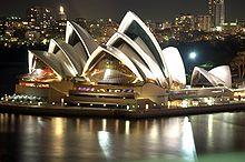 Das Opernhaus von Sydney wurde 1973 offiziell eröffnet.