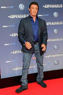 Sylvester Sly Stallone le 6 août 2014