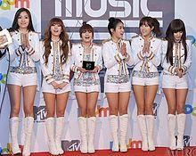 T-ara op het Daum-muziekfestival in 2011