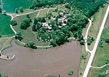 Frank Lloyd Wright's Taliesin is een National Historic Landmark