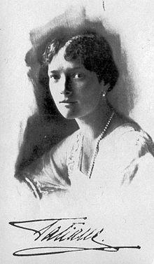 Groothertogin Tatiana Nikolaevna in 1916.
