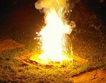 Trochę więcej spalania termitów