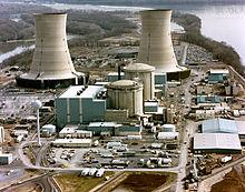 Three Mile Island kernreactor en elektriciteitscentrale