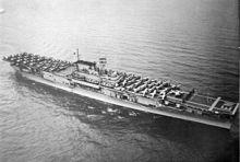 USS Enterprise in 1939.