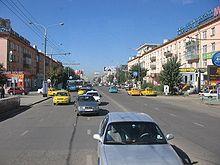 Verkeer in Ulaanbaatar