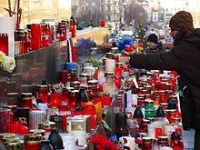 Na pamiątkę Václava Havla - Praga 19. grudnia 2011 r.