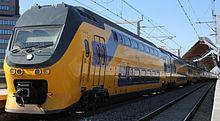 VIRM6 dubbeldeks elektrische trein.