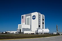 De VAB gezien vanaf de NASA parkway