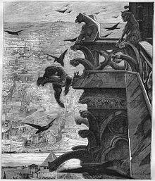 Ilustracja Alfreda Barbou z oryginalnego wydania Notre Dame de Paris (1831)