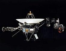 1979年に木星を通過した探査機「ボイジャー1号」の絵。