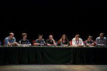 Člani upravnega odbora na Wikimanii 2009 v Buenos Airesu