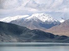 Das Pamirgebirge südlich von Kashgar