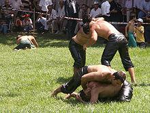 Öl-Wrestling auf Kırkpınar