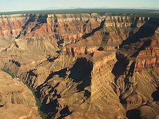 Strata van de Grand Canyon