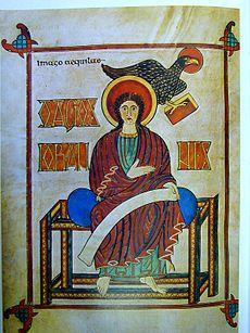 Giovanni Evangelista dei Vangeli di Lindisfarne