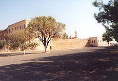Het Syrisch-orthodoxe klooster Mor Gabriel, gesticht in 397.