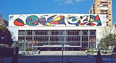 Τοιχογραφία του Joan Miró
