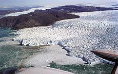 Sermeq Kujatdlek Glacier aan Westkust