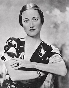 Wallis Simpsonová v roku 1936