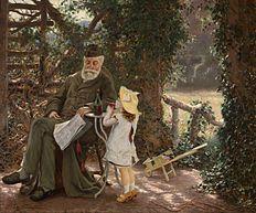 Human Contentments (20e eeuw), een schilderij van Edgard Farasyn